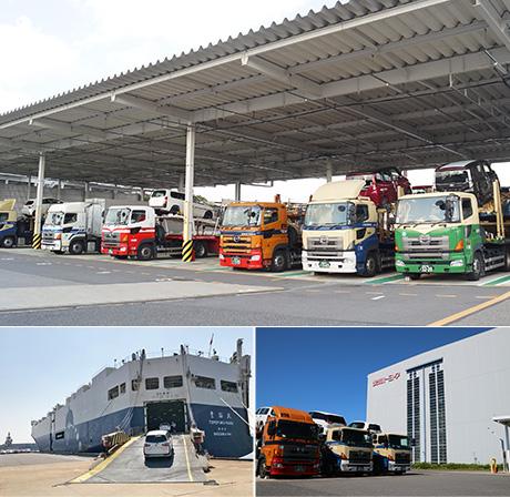 車両輸送事業|国内事業|トヨタ輸送株式会社